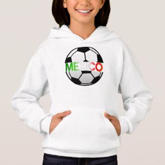 Tricolor Mexiko Fußball-Team EL Hoodie