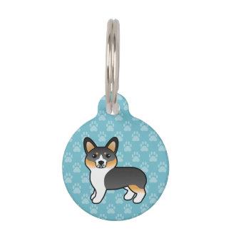 Tricolor Pembroke-Walisercorgi-und -Hundes Info Tiermarke