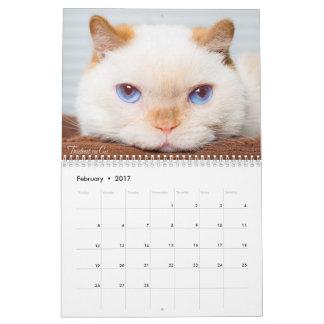 Trident 2017 der Katzen-Kalender Kalender