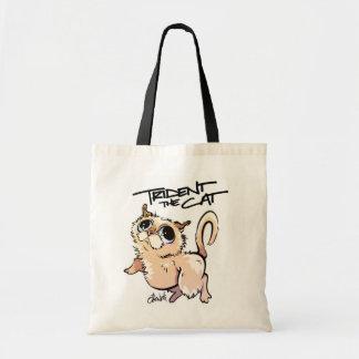 Trident die Katzen-Charakter-Tasche 01 Tragetasche