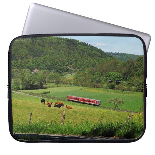 Triebwagen bei Ederbringhausen Laptopschutzhülle