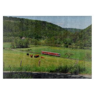 Triebwagen bei Ederbringhausen Schneidebrett