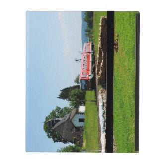 Triebwagen in Simtshausen iPad Etui
