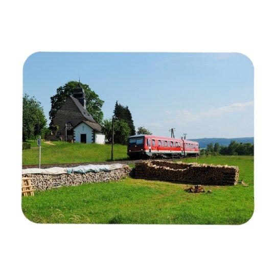 Triebwagen in Simtshausen Magnet