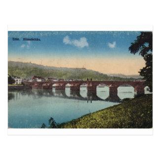 Trier Romerbrucke Brücke Postkarte
