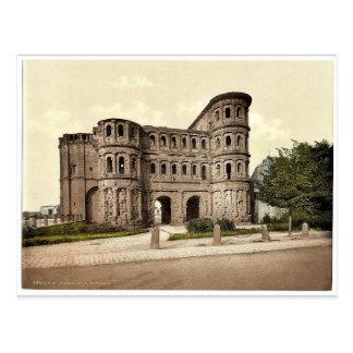 Trier (Treves), Porta Nigra (schwarzes Tor), Postkarte