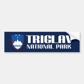 Triglav Nationalpark Autoaufkleber