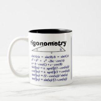 TrigonometrieRev B Zweifarbige Tasse