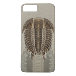Trilobite versteinerter Telefon-Kasten iPhone 8 Plus/7 Plus Hülle