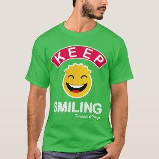Trinidad and Tobago behalten lächelnden smiley T-Shirt