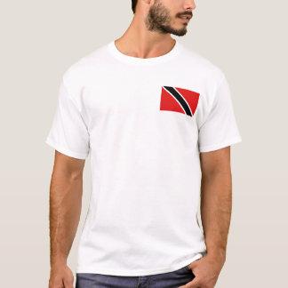 Trinidad and Tobago kennzeichnen und zeichnen T - T-Shirt