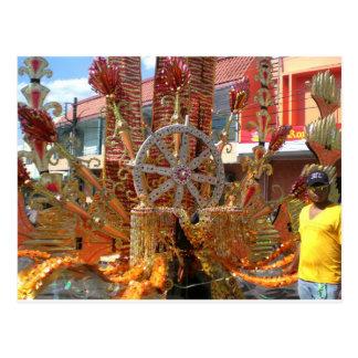 Trinidad-Karneval 2010 Postkarte