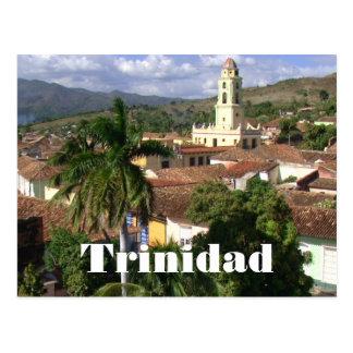 Trinidad, Kirche des Heiligen Franziskus, UNESCO Postkarte
