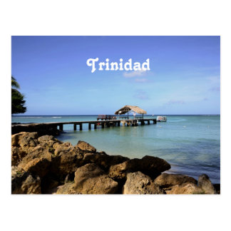Trinidad-Pier Postkarte