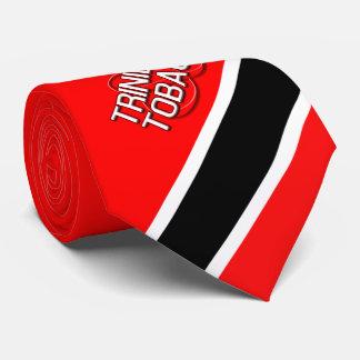 Trinidad u. Tobago (rot) Krawatte