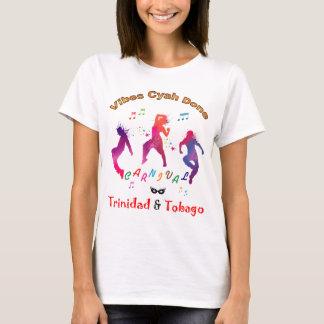 Trinidad und Tobago, das Leute-Karneval springt T-Shirt