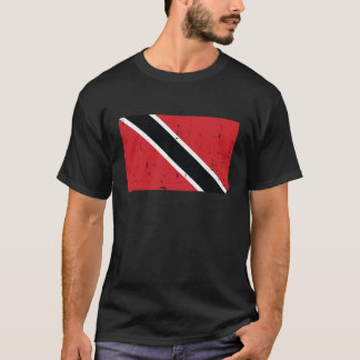 Trinidad und Tobago-Flaggen-Welt T-Shirt