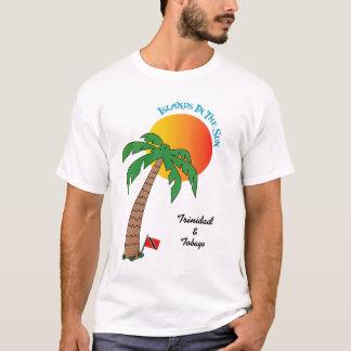 Trinidad und Tobago-Inseln in The Sun T-Shirt