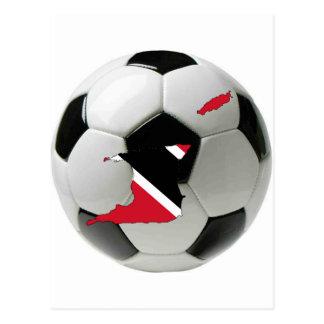 Trinidad und Tobago-Nationalmannschaft Postkarte