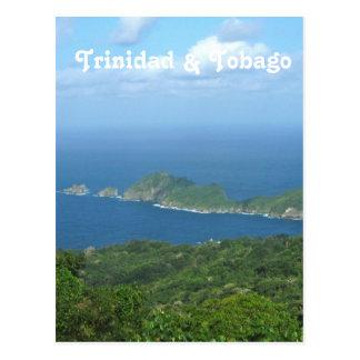 Trinidad und Tobago Postkarte