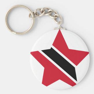 Trinidad+und+Tobago-Stern Schlüsselanhänger