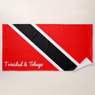 Trinidad und Tobago Strandtuch