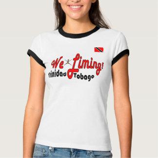 Trinidad und Tobago wir kalkend T-Shirt