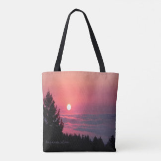 Trinity County, Kalifornien Sonnenuntergang… Tasche