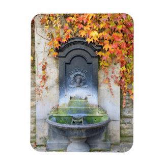 Trinkbrunnen im Fall, Ungarn Magnet
