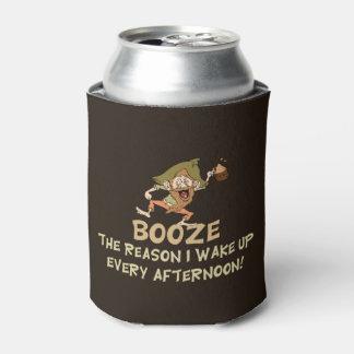 Trinken der Grund, den ich Sprichwort aufwache Dosenkühler