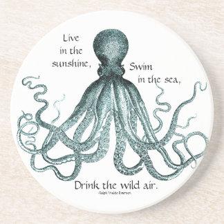 Trinken Sie den wilden Luft-Untersetzer Bierdeckel