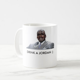 Trinken Sie ein Jordanien Kaffeetasse