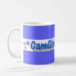 Trinken Sie Kaffee jeden Morgen mit allen Mädchen! Kaffeetasse