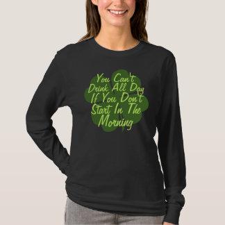 Trinkender Spaß lustiger St. Patricks Tages T-Shirt