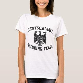Trinkender Team-T - Shirt Deutschland