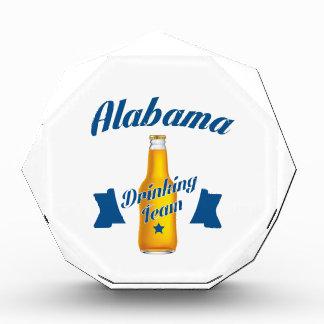 Trinkendes Team Alabamas Acryl Auszeichnung