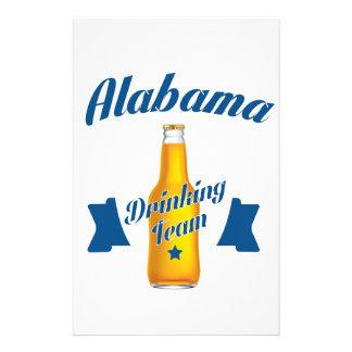 Trinkendes Team Alabamas Briefpapier