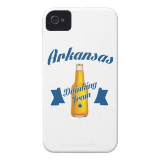 Trinkendes Team Arkansas iPhone 4 Case-Mate Hüllen
