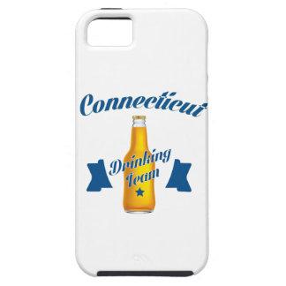 Trinkendes Team Connecticuts iPhone 5 Hüllen