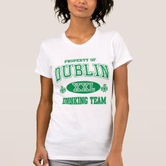 Trinkendes Team Dublins T-Shirt