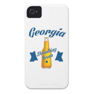 Trinkendes Team Georgia iPhone 4 Hülle