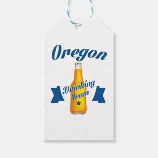Trinkendes Team Oregons Geschenkanhänger