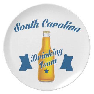 Trinkendes Team South Carolina Teller