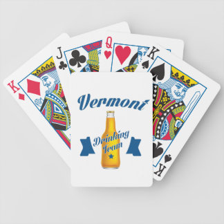Trinkendes Team Virginias Bicycle Spielkarten