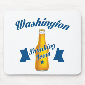 Trinkendes Team West Virginia Mousepad