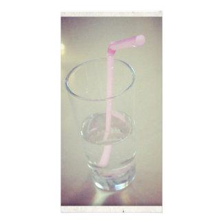 Trinkwasser Photokartenvorlage
