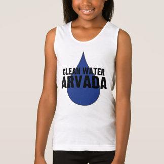 Trinkwasser-Spaghetti-Bügel der Mädchen-ARVADA Tank Top