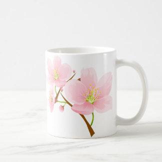 Trio der Kirschblüten Kaffeetasse
