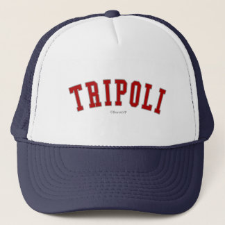 Tripoli Truckerkappe