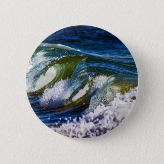 Tripple-Welle Runder Button 5,1 Cm